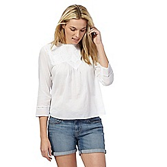 Levi's - White lace blouse