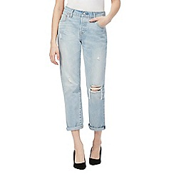 Levi's - Light blue '501' tapered leg jeans