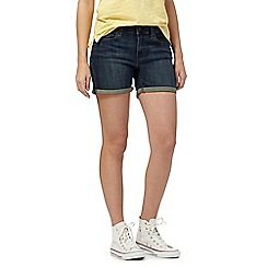 Levi's - Dark blue denim shorts