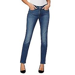 Levi's - Blue 312 shaping slim denim jeans