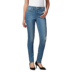 Levi's - Light blue '311' shaping skinny jeans