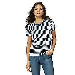 Levi's - Blue striped pocket t-shirt
