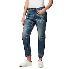 G-Star Raw - Blue mid wash 'Arc' boyfriend jeans