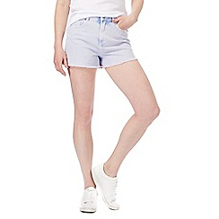 Red Herring - Lilac washed shorts