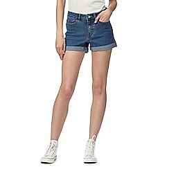 Noisy may - Blue denim shorts