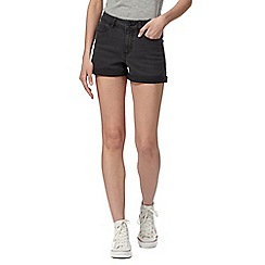Noisy may - Dark grey denim shorts