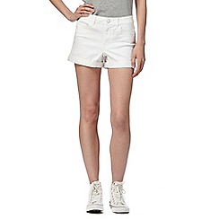 Noisy may - White denim shorts