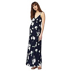 Red Herring Maternity - Navy floral print maxi dress