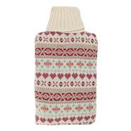 Beige fairisle body warmer