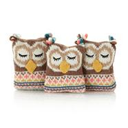 Pack of three owl wardrobe fresheners