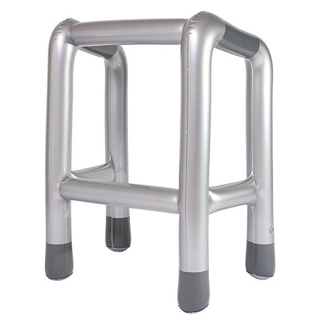 Bluw - Inflatable zimmer walking frame