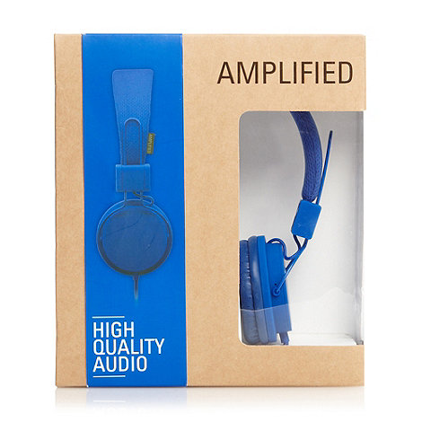 Amplified - Blue high performance headphones
