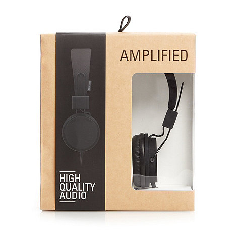 Amplified - Black high performance headphones