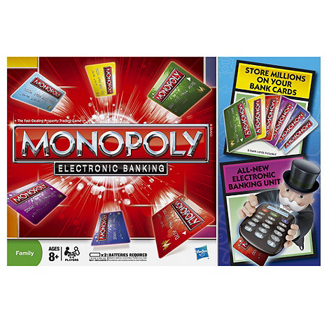 Hasbro Gaming - Monopoly Electronic Banking Game