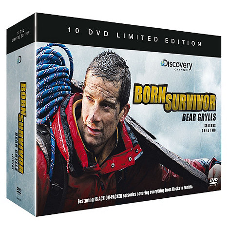 Bear Grylls DVD Box Set