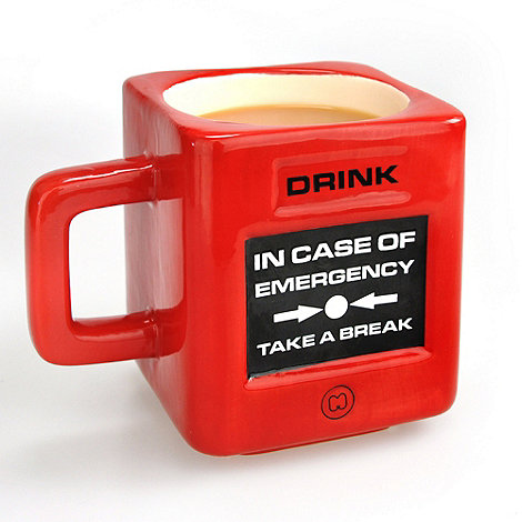 Mustard - Take a Break Mug