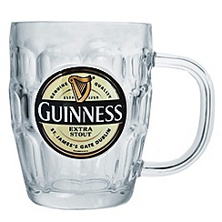 Guinness - Label Tankard Dimpled