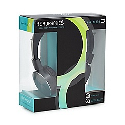 Amplified - Black Over Ear Headphones