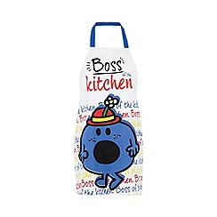 Mr Men - White and Pink 'Mr. Messy' Apron