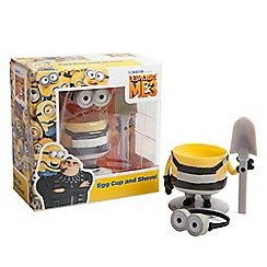 Despicable Me - Minion Egg Cup And Shovel