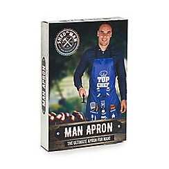 Shed Man - 'Top Chef' slogan man apron