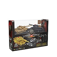 Propel - 'Laser Force' remote controlled RC assault tanks