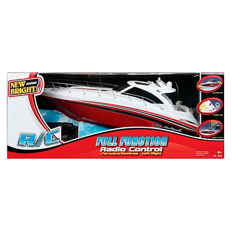 New Bright - Radio Controlled Sea Ray Boat