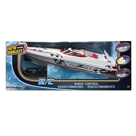 New Bright - Radio Controlled 18 Inch Donzi Boat