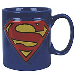Superman - Embossed Logo Mug