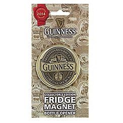 Guinness - Collector's Edition 2014 Screwcap Bottle Opener Magnet