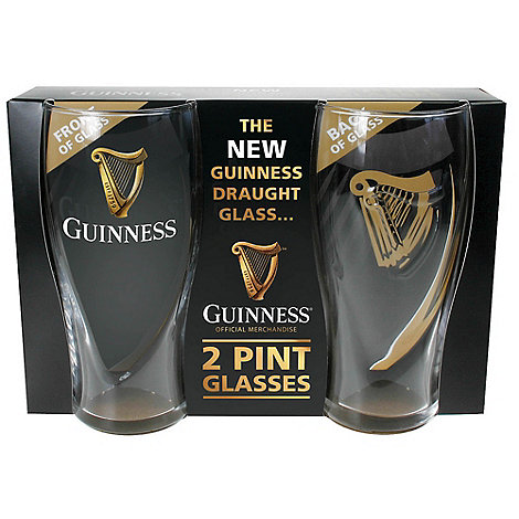 Guinness - 2 Pint Glass Set