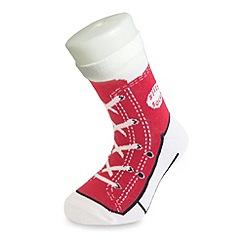 Silly Socks - Red sneaker sock