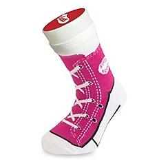 Silly Socks - Pink sneaker sock