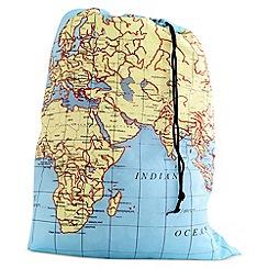 Kikkerland - Laundry Bag Maps