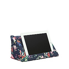 coz-e-reader - Denim Floral cushion stand for tablets
