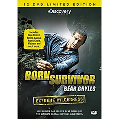 DVD - Born Survivor Bear Grylls - Extreme Wilderness DVD