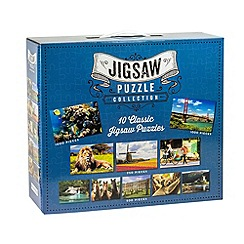 Professor Puzzle - Blue Jigsaw Puzzle Collection