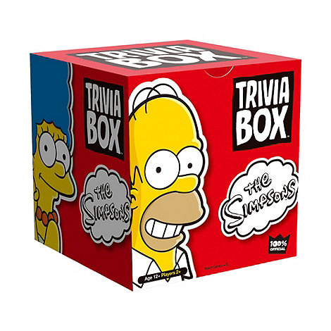 Imagination Games - Trivia Box The Simpsons