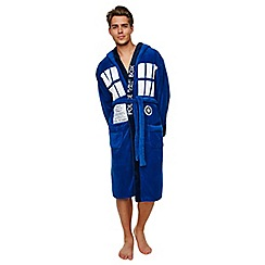 Doctor Who - Tardis fleece bathrobe