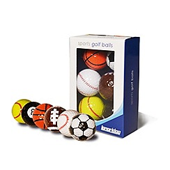 Longridge - Sports golf balls 6pk