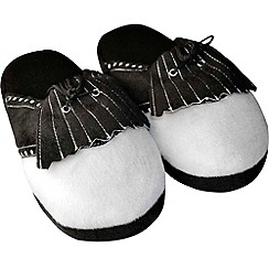 Longridge - Mens large golf slippers