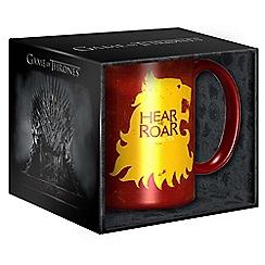 Game of Thrones - Lannister mug