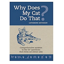 Debenhams - Why does my Cat do that? PB