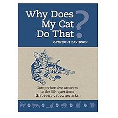 Debenhams - Why does my Cat do that? PB
