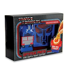 Paladone - Transformers egg cup & toast cutter