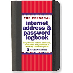 Penguin - Personal Internet Address and Password Log Book