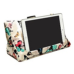 coz-e-reader - coz-e-reader - Butterfly wipe clean cushion stand for tablets