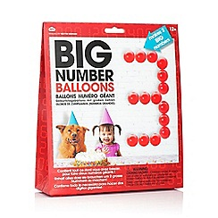 npw - Big Number Birthday Balloons