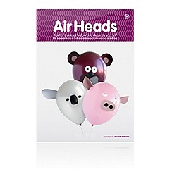 npw - Air Heads 6 Animal Balloons
