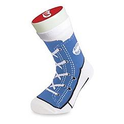 Silly Socks - Blue sneaker sock